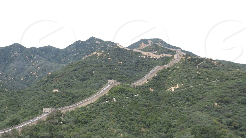 Badaling section of the Great Wall of China photo