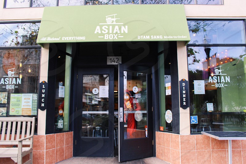 asian box store opened during daytime photo