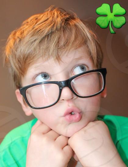 St Patricks day irish shamrock photo