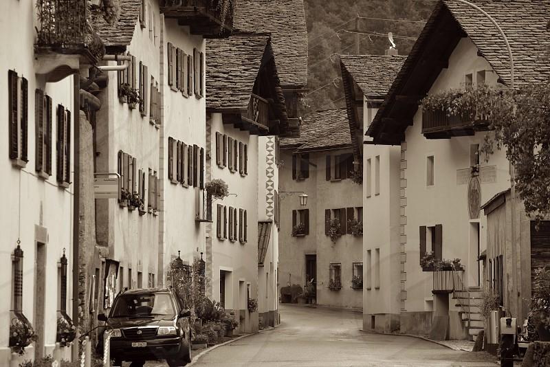 Swiss Village- Swiss Alps photo