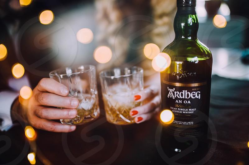 Nightlife bar club party whiskey drinks alcohol celebration fun photo
