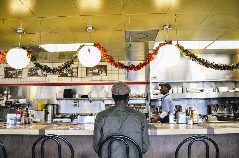 Waffle House on Christmas photo