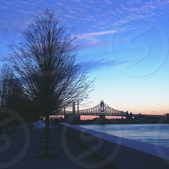 New York City bridge  photo