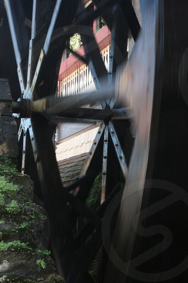 Water Wheel Moving photo