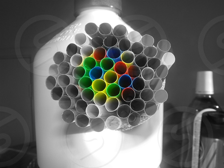 I collect anything colourful because life isn't back n white photo