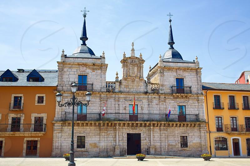 Way of Saint James by Ponferrada city hall El Bierzo of Leon photo