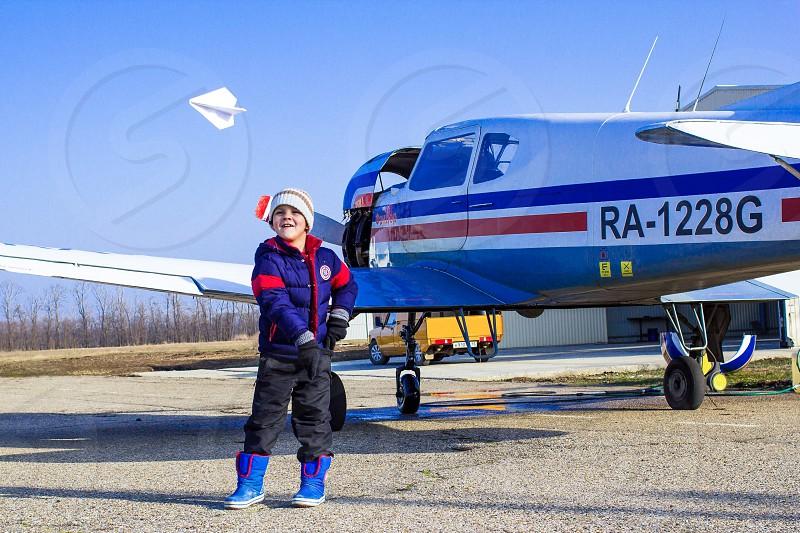 Детство#самолет#мечта# photo