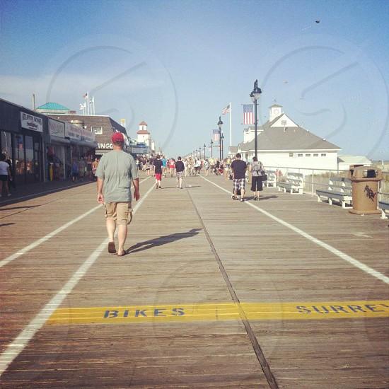 Ocean City boardwalk photo
