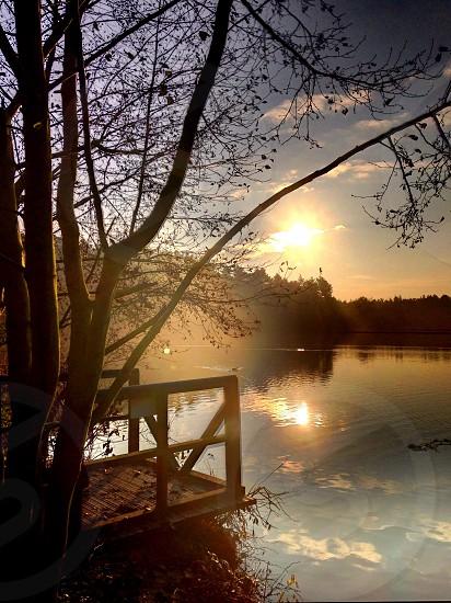 The lake at Center Parcs Elveden. photo