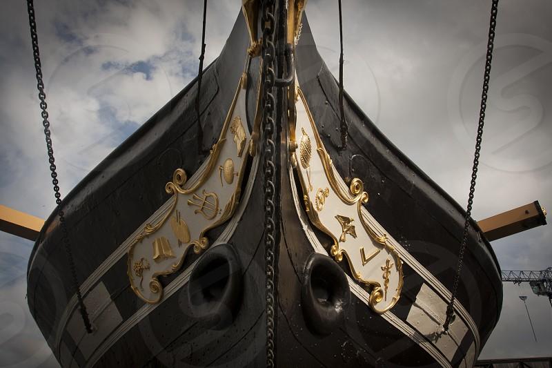 SS Great Britain; Bristol; Nautical; Chains photo
