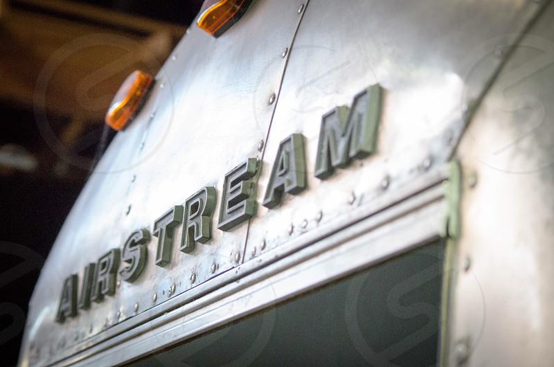 Vintage airstream  photo