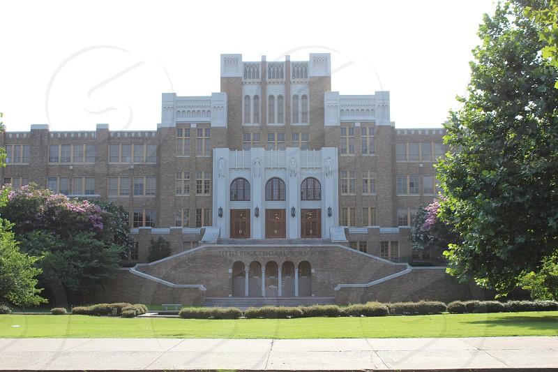 Central High School in Little Rock Arkansas photo