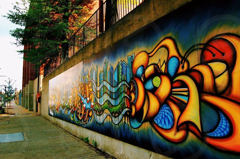 Mural street art art photo