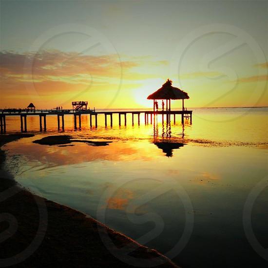 Roatan Sunset photo