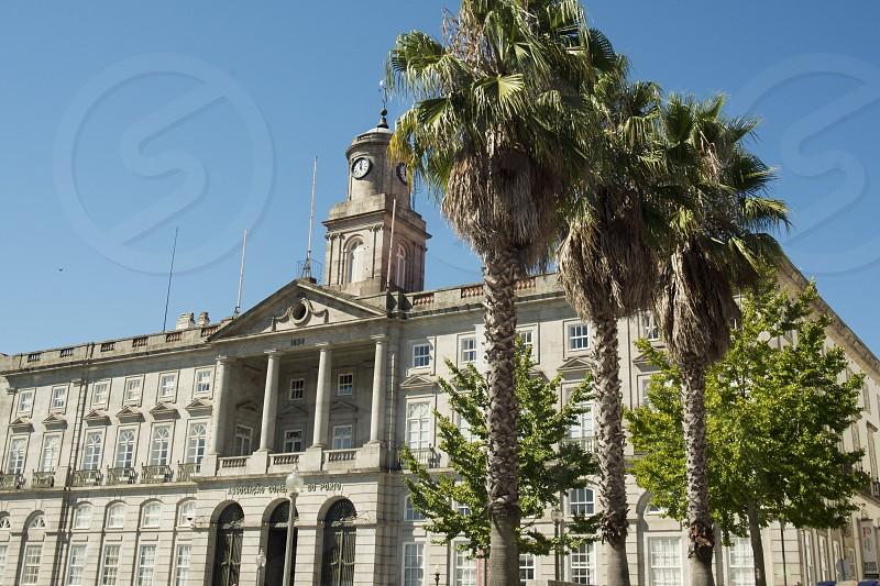 the palacio da bolsa in Ribeira in the city centre of Porto in Porugal in Europe. photo