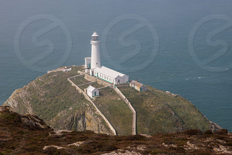 South Stack Lighthouse Anglesey Holy Head wale photo