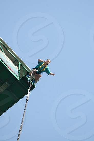 Bungee jump photo
