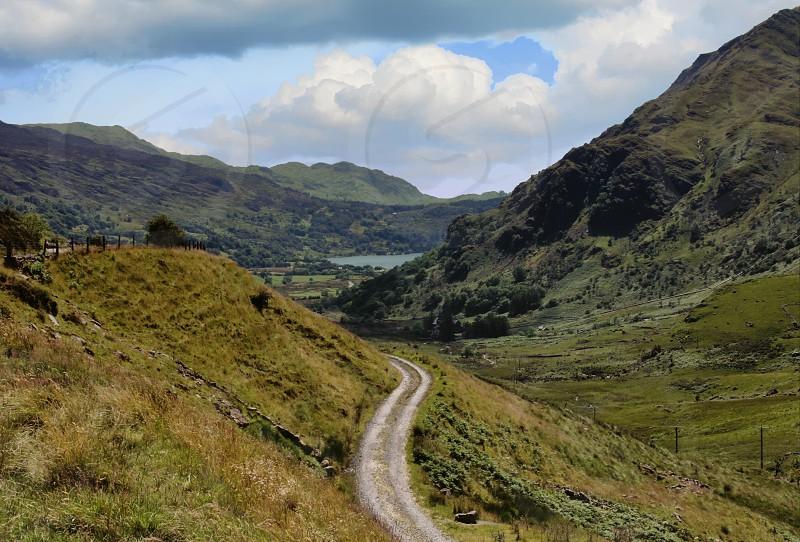Road mountainvalley photo