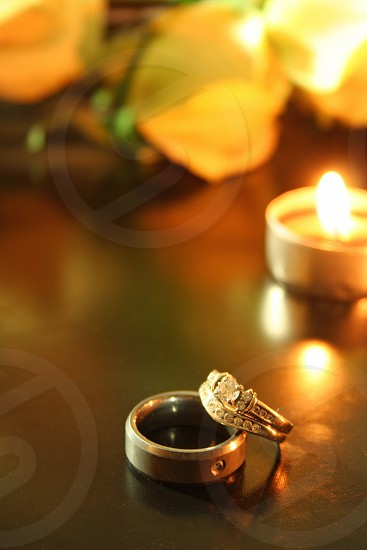 Rings Candle Bouquet photo