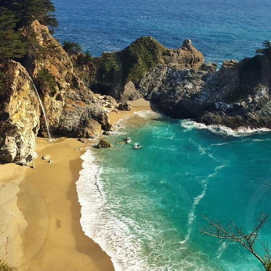 McWay Falls is a must-see on any California roadtrip photo