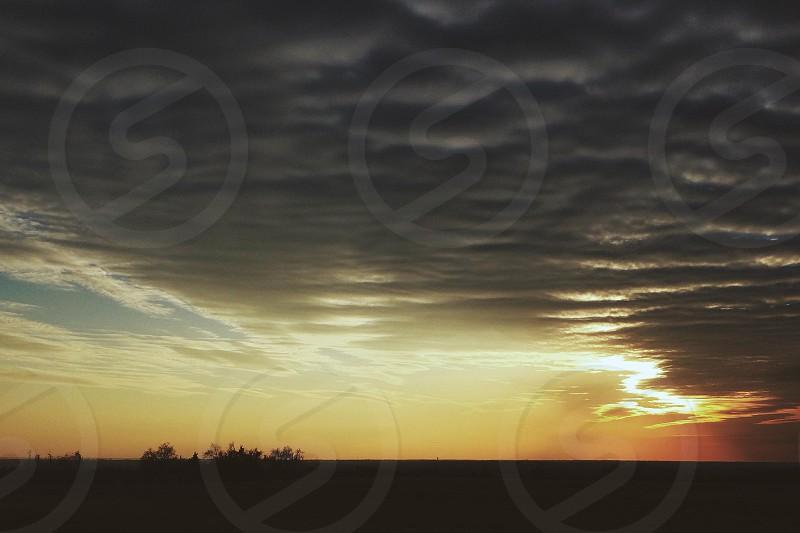 cumulonimbus clouds photo