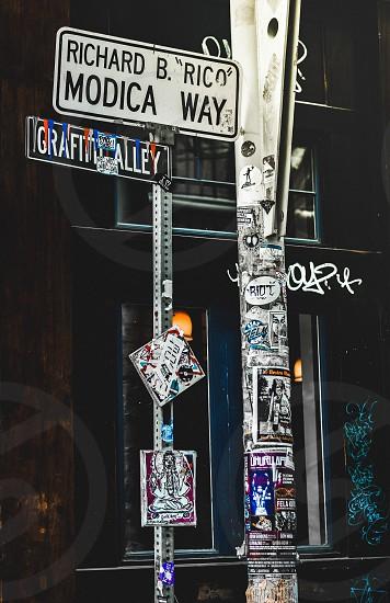 Graffiti Alley Cambridge Boston Massachusetts Art photo