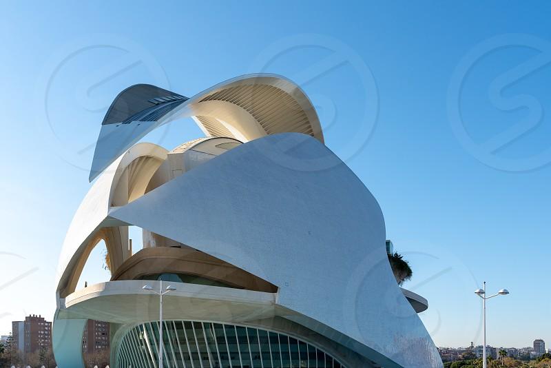 VALENCIA SPAIN - FEBRUARY 25 :  Palau de les Arts Reina Sofia in Valencia Spain on February 25 2019 photo