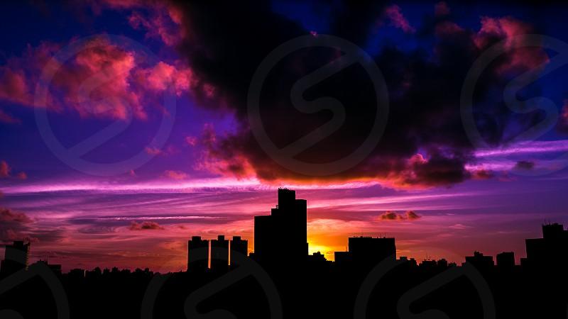 Sunrise feom my apartment photo