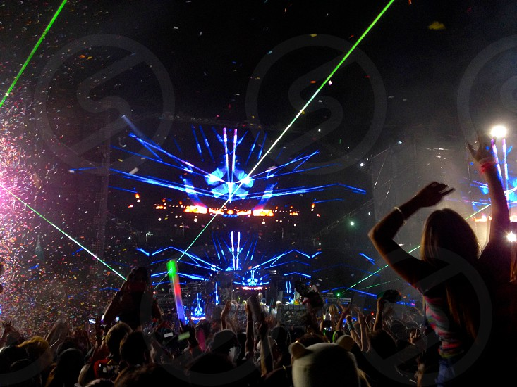Escape From Wonderland 2013 a rave festival put on by Insomniac Events. photo