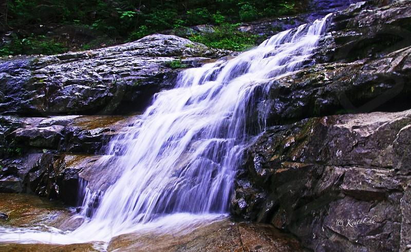 The falls at slippery slab photo