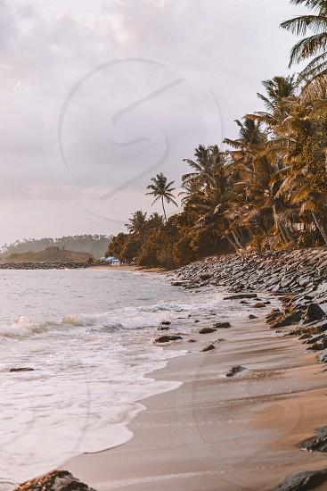 Explore beautiful Sri Lanka beaches and warm Indian Ocean photo