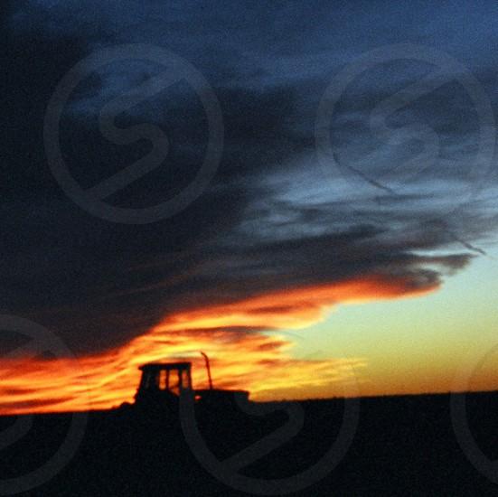 Texas Field Sunset photo