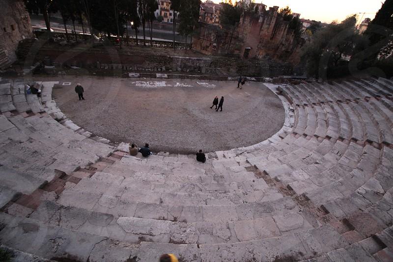 teatro romano di verona photo
