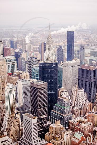 new york city buildings Chrysler building. photo