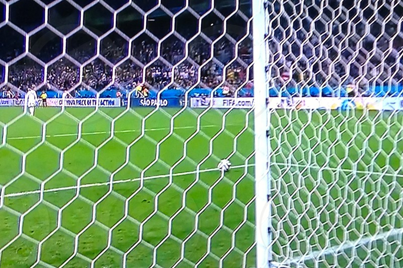World Cup goal photo