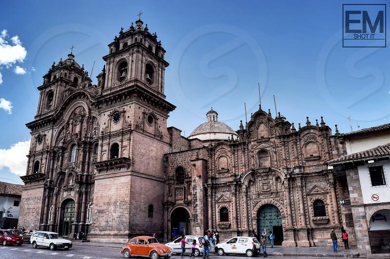Church Cusco Peru  South America  photo
