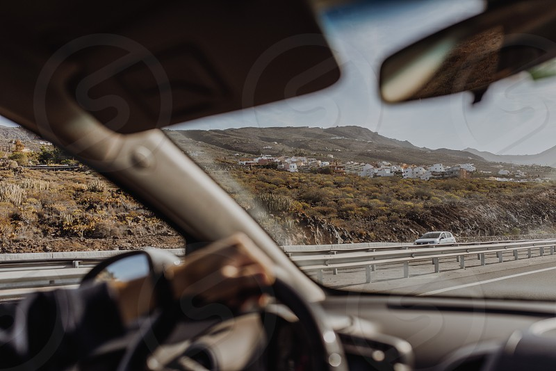 On the road in Tenerife photo