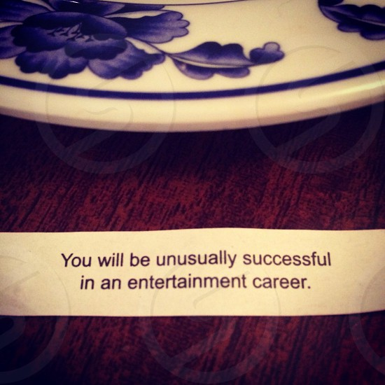The most specific fortune I have ever received. Also the least believable.  photo