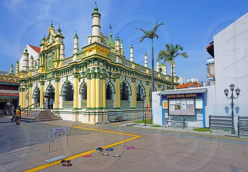 Masjid Abdul Gafoor mosque in Singapore photo
