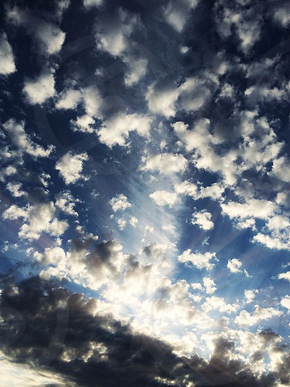cloud formation  photo