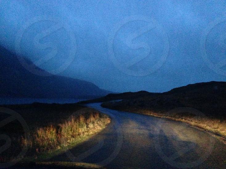 Road to Wasdale Head Cumbria UK photo