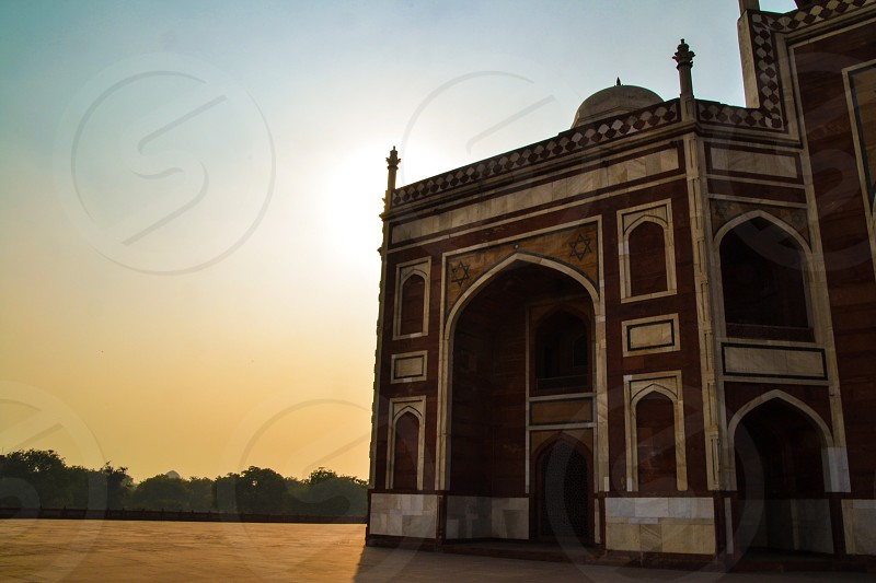 Red Fort in New Delhi India photo