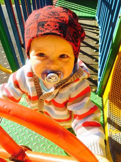 Happy Playful child ;)  photo
