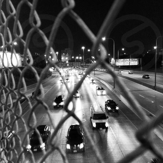 Dark commute photo