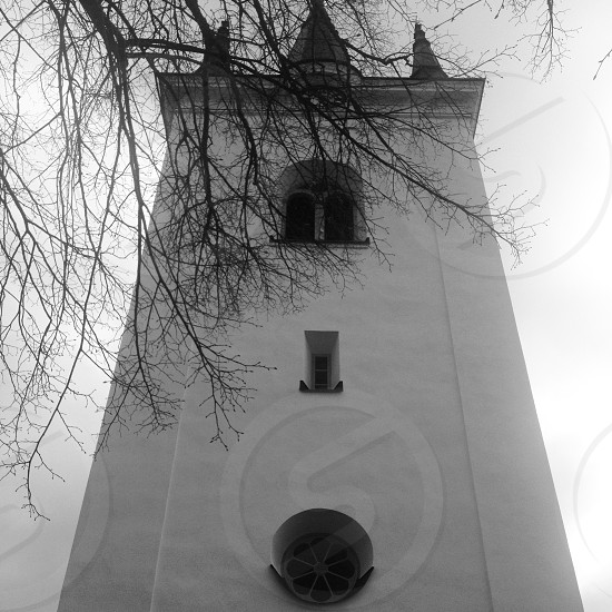 Old Church in Svärdsjö Dalarna Sweden. photo