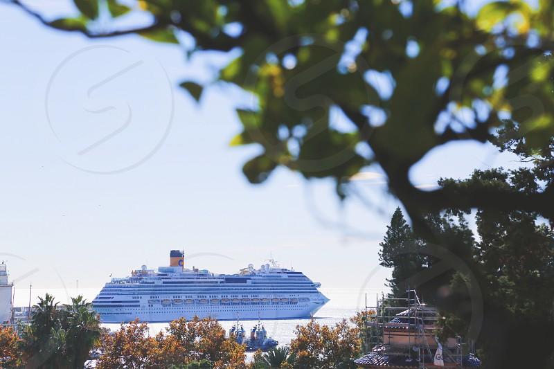 Boat lifestyle  ship sea sailing cruise cruise ship  photo