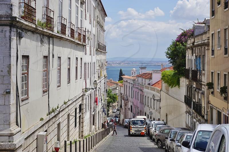 Miradouro Sophia de Mello Breyner Andresen - Lisbon Portugal photo