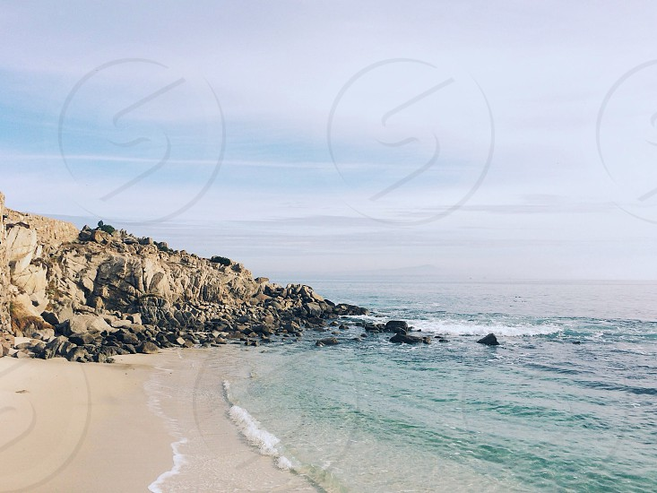 Lover's Point in Pacific Grove California.  photo