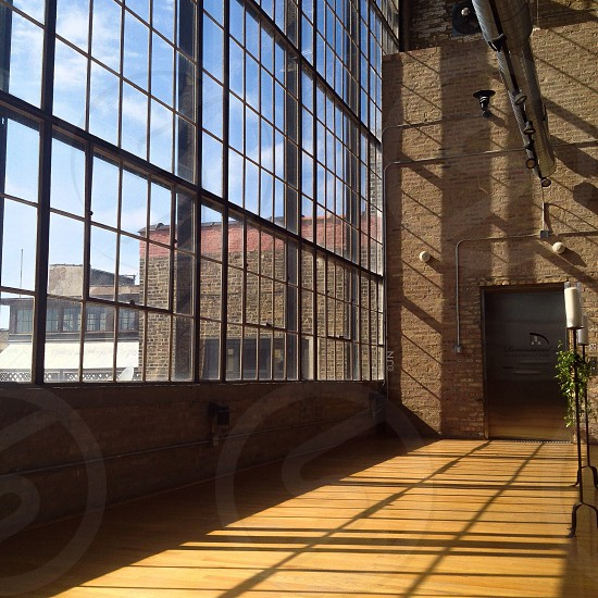 clear glass window photo