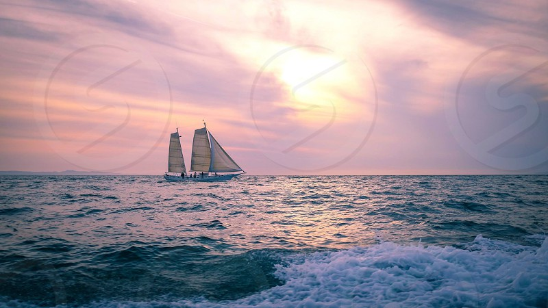 Huntington Beach #ocean #sailing photo
